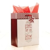 Come Let Us Adore Him Gift Bag, Medium