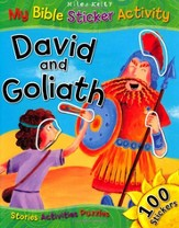 David and Goliath:  My Bible Sticker Activity
