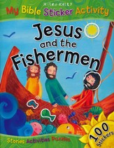 Jesus and the Fishermen: My Bible Sticker Activity