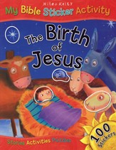 The Birth of Jesus: My Bible Sticker Activity