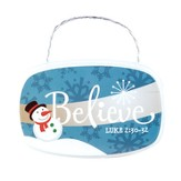 Believe Plaque Ornament
