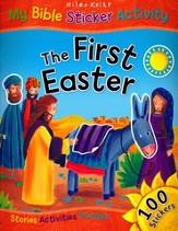 The First Easter: My Bible Sticker Activity