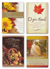 Give Thanks, Box of 12 Assorted Thanksgiving Cards