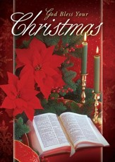 God Bless Your Christmas, Box of 12 Christmas Cards (KJV)