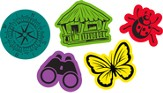 Journey Off the Map VBS 2015: Sticky Foam Shapes, 150 Pieces