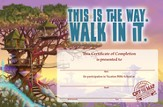 Journey Off the Map VBS 2015: Certificates of Completion, Pack of 50