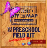 Journey Off the Map VBS 2015: Preschool Field Kit
