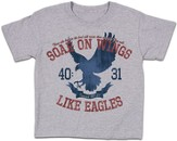 Soar On Wings Shirt, Gray, Youth Medium