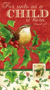 Christmas Carols Paper Guest Towel