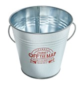 Journey Off the Map VBS 2015: Metal Buckets, Pack of 3