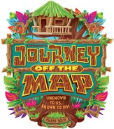 Journey Off the Map VBS 2015: Logo Iron-On, Pack of 10  - Slightly Imperfect