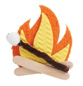 Journey Off the Map VBS 2015: Campfire Magnet Craft, Pack of 10