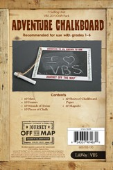 Journey Off the Map VBS 2015: Adventure Chalkboard Craft, Pack of 10