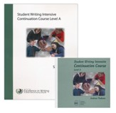 The Student Writing Intensive Continuation Course Level A (9  DVDs & 1 CD-ROM; 2015 CD-ROM Update)