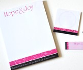 Hope & Joy Stack Notepads and Sticky Notes