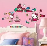Hello Kitty Vinyl Wall Stickers