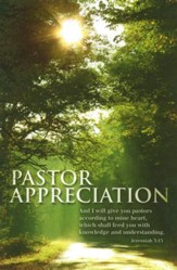 Pastor Appreciation Bulletin, 100