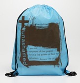#Unashamed Drawstring Backpack