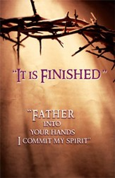 Lent - It is Finished, Bulletin, 100
