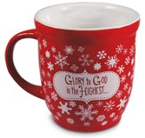 Glory to God in the Highest Snowflake Mug