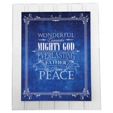 Mighty God Plaque