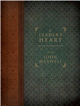 A Leader's Heart: 365-Day Devotional Journal - eBook