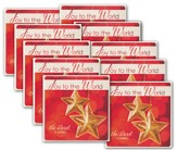 Joy to the World CD Christmas Greeting Cards, Pack of 10