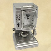 Espresso Machine Desk Clock