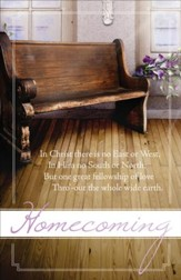 In Christ Church Homecoming Bulletins,100