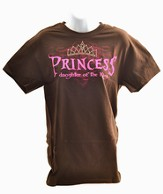 Princess Rhinestone Tee Shirt, Large (42-44)