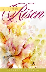 Christ Is Risen Easter Bulletins, 100