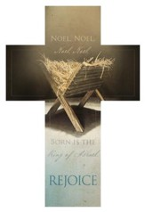 The First Noel - Rejoice Cross Design Bookmarks, 25
