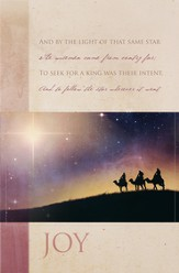 The First Noel - Joy Advent Bulletins, 100