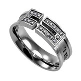 I Know, Canale Women's Ring with Cubic Zirconium, Size 9 (Jeremiah 29:11)