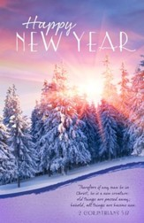 New Year (2 Corinthians 5:17, KJV) Bulletins, 100