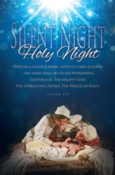 Silent Night, Holy Night (Isaiah 9:6) Bulletins, 100