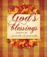 God's Blessings (Deuteronomy 16:15, NIV) Large Bulletins, 100