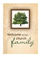 Church Family--Membership (John 3:16, NIV) Green Foil  Embossed Certificates, 6