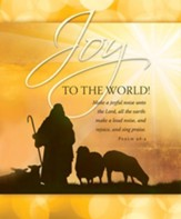 Joy to the World! (Psalm 98:4) Large Bulletins, 100