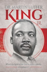 Dr. Martin Luther King Jr. (2 Corinthians 3:17) Bulletins, 100