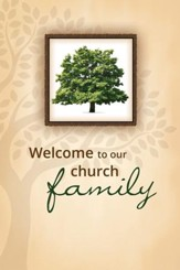 Welcome to Our Church (John 3:16, NIV) Folders, 12