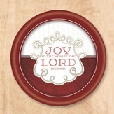 Joy To the World Paper Plates, Pack of 8