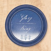 Glory To the King Paper Plates, Pack of 8
