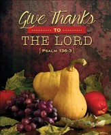 Fruitful Harvest (Psalm 136:3) Large Bulletins, 100