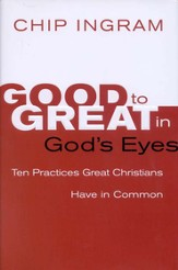 Good to Great in God's Eyes (slightly imperfect)