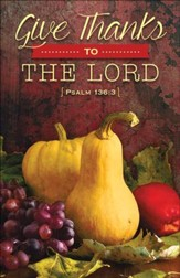 Fruitful Harvest (Psalm 136:3) Bulletins, 100
