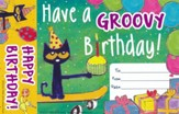 Pete the Cat Happy Birthday Bookmark Award