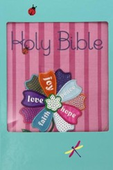 NKJV Fruitful Flower UltraSlim Bible