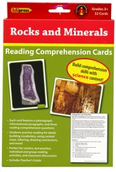 Rocks & Minerals, Science Cards, Grades 3+