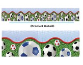Soccer, Layered-Look Border